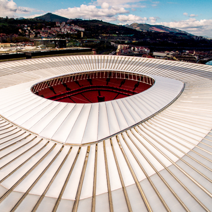 San Mames Stadium Bilbao Spain