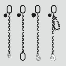 Anschlagketten Güteklasse 10 HIT – 1-strängig