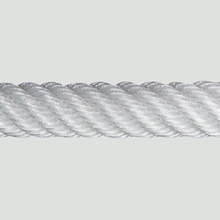 Unassembled fibre ropes