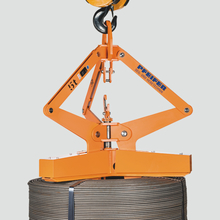 Wire coil grab