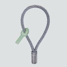 PFEIFER-Seilöse mit metrischem Gewinde