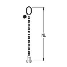 HIT-Anschlagkette GK10 1-strängig – Spezial-Endbauteile