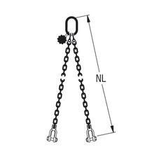 HIT-Anschlagkette GK10 2-strängig – Spezial-Endbauteile