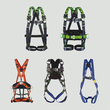 Safety harnesses, safety belts and accessories