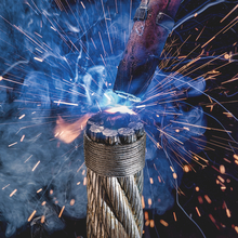 Welding of ropes