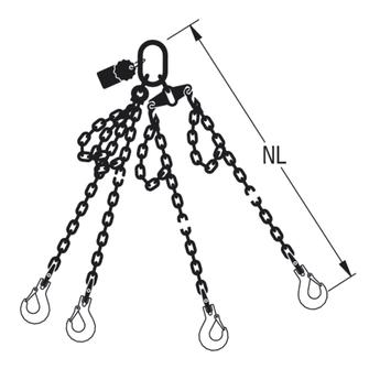 HIT PRO-Chain balancing suspension gear, quality grade 12