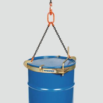 Drum Lifting Clamp For Large Diameter Www Pfeifer Info