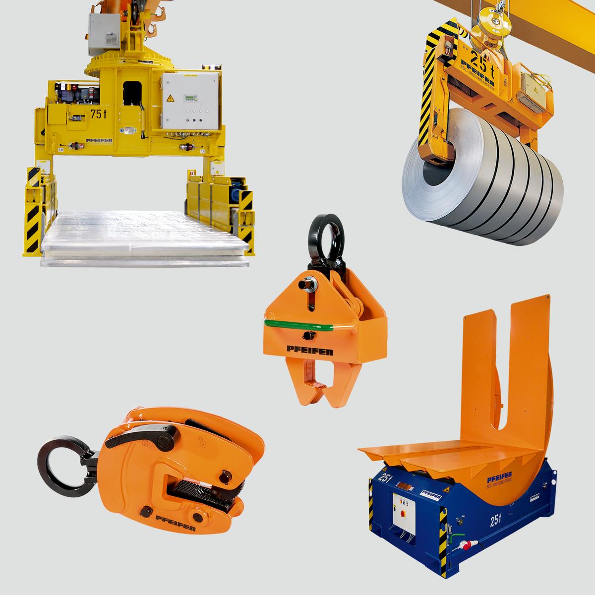 Accessori di sollevamento ed unità voltapezzo